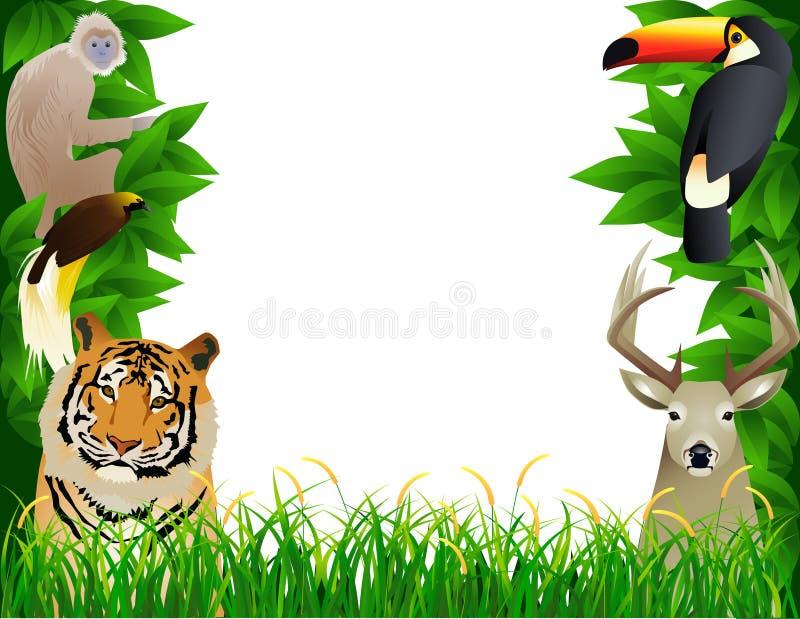 Wild animal frame