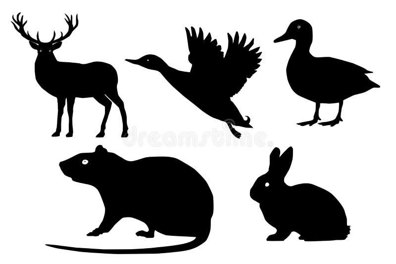 Download Wild Animals Vector Set. Stock Vector - Image: 83721525