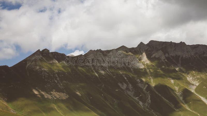 Mountains in Georgia stock photography