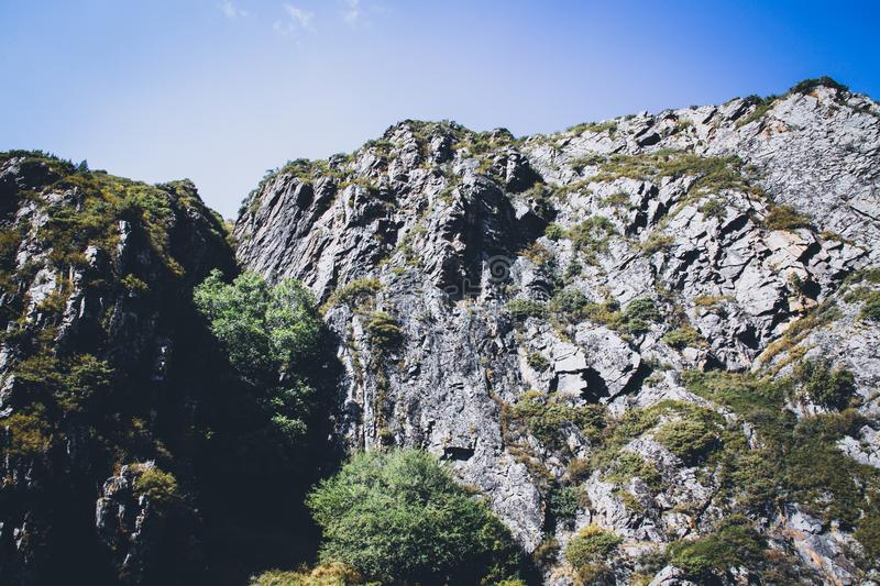 Mountains in Georgia royalty free stock photography