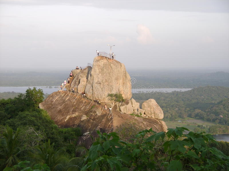 wild berg royaltyfri foto