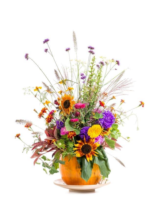 Wild bloemenboeket royalty-vrije stock foto's