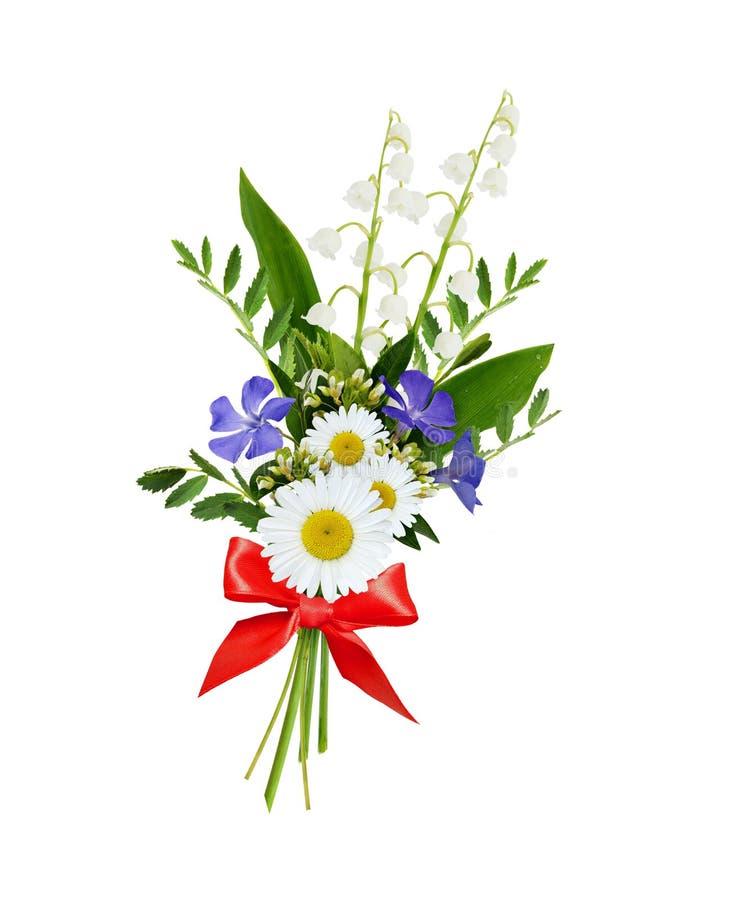 Wild bloemenboeket stock fotografie