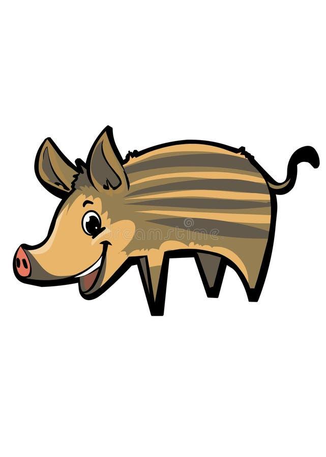 Download Wild-Boar stock illustration. Illustration of mammal - 12984966