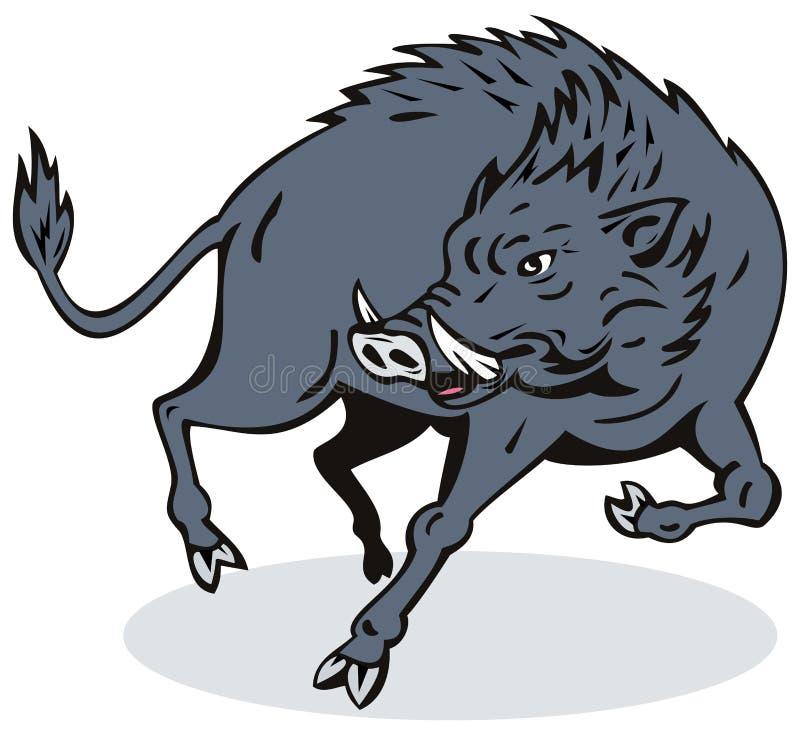 Download Wild Boar stock illustration. Image of wildlife, animal - 6347152