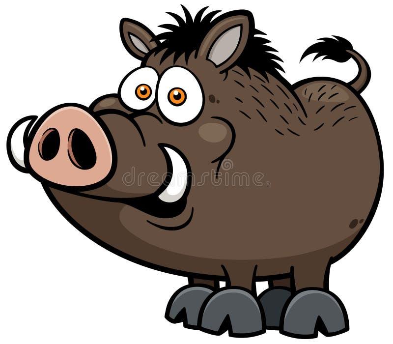 Wild boar vector illustration