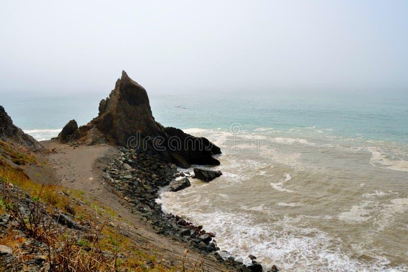 Download Wild Californian Coast stock image. Image of harsh, foaming - 22072465