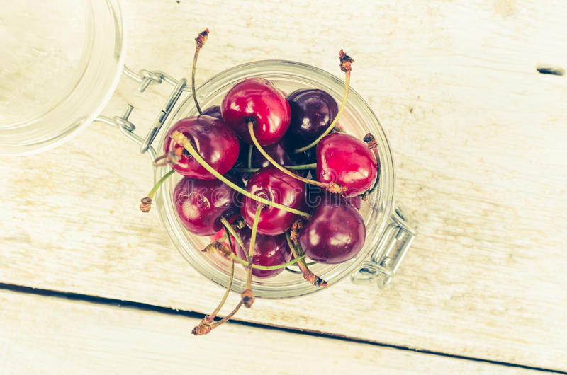 Wild cherry sweet merry royalty free stock image