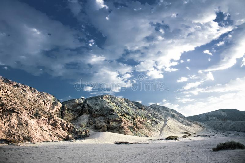 wild desert - beauty in nature, landscapes and environment concept royalty free stock photography