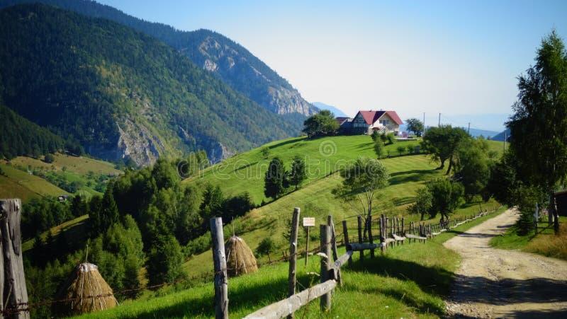 Wild dorp van Magura royalty-vrije stock foto