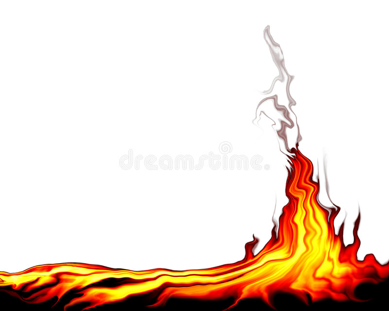 Wild Fire vector illustration