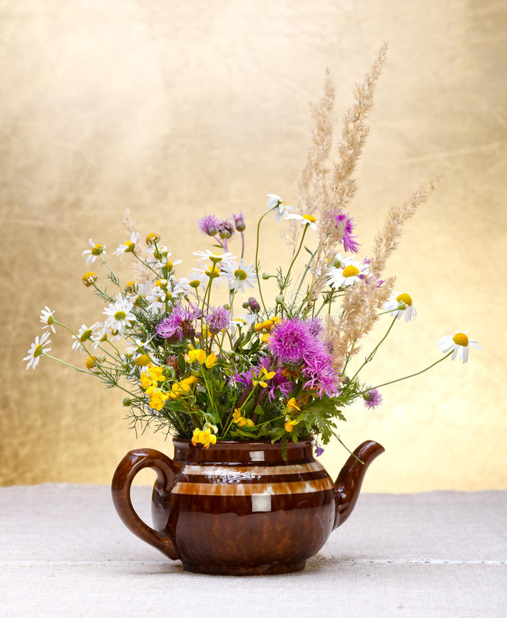Download Wild flowers still life stock image. Image of assortment - 26804155