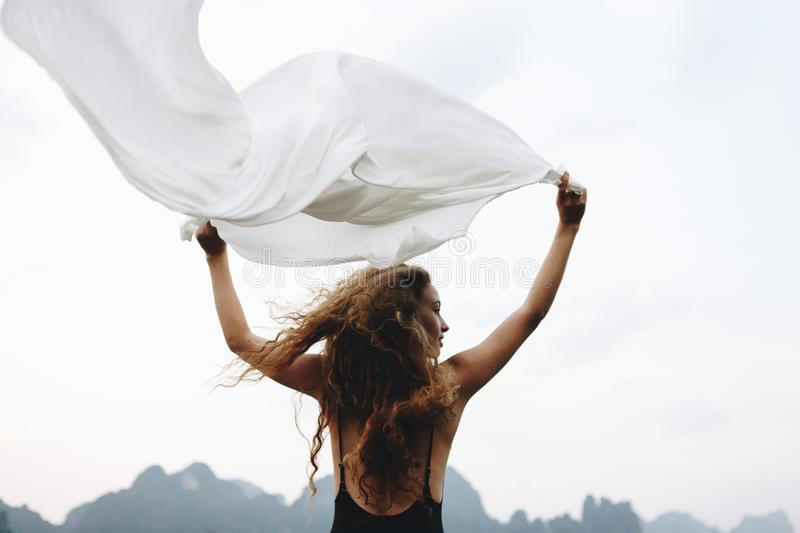 Wild and free like the wind royalty free stock images