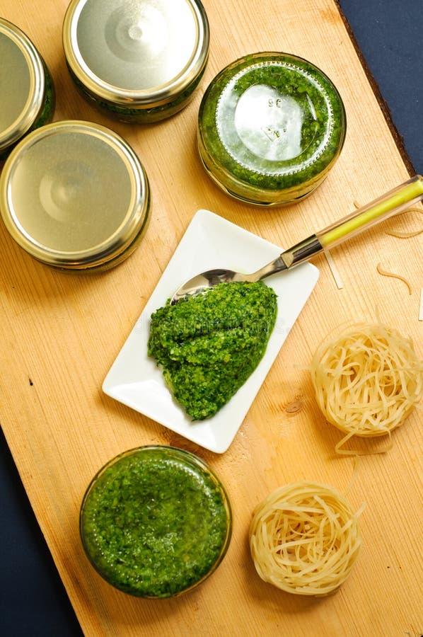 Download Wild garlic pesto stock photo. Image of cuisine, ramsons - 24254964