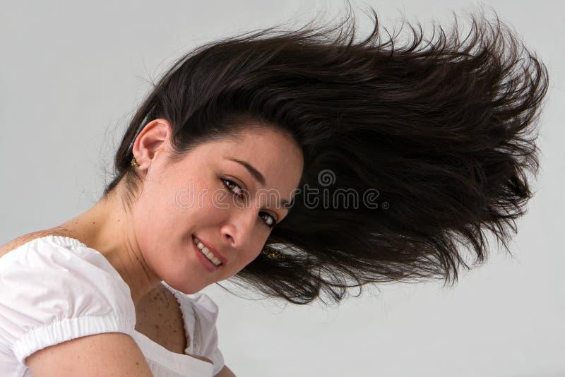 wild hår royaltyfri fotografi