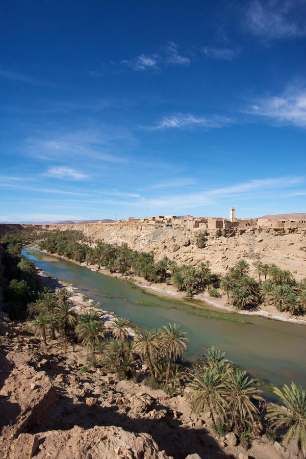 Download Wild landscape in Morocco stock photo. Image of atlas - 18543634