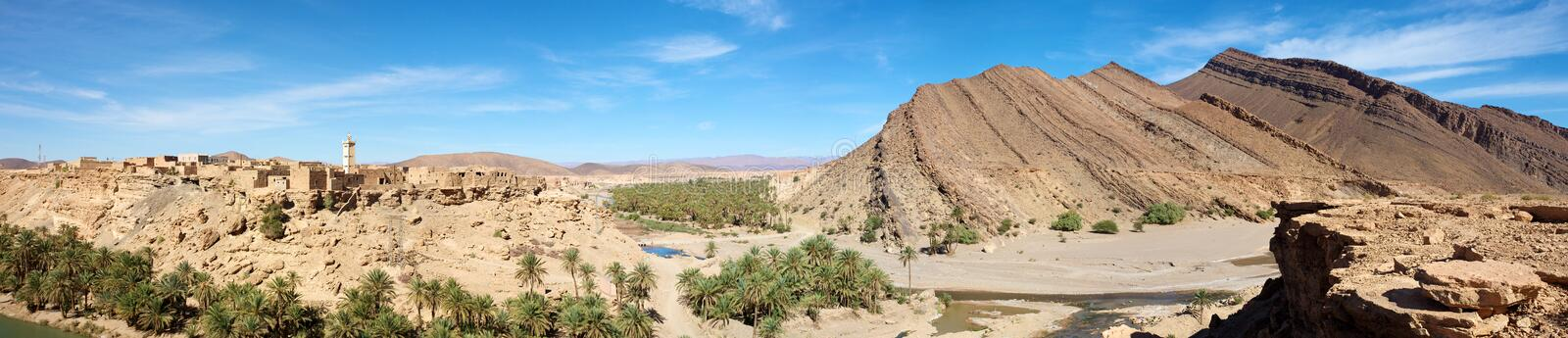 Wild Landscape In Morocco Royalty Free Stock Images