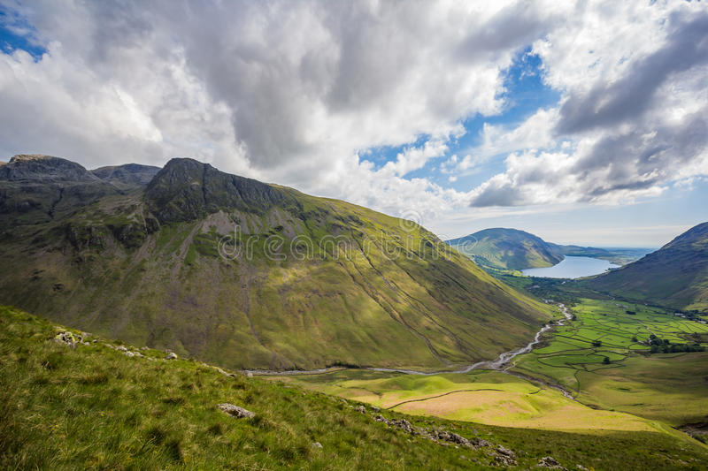 Download Wild Mountains In The Lake District Stock Image - Image: 83715857