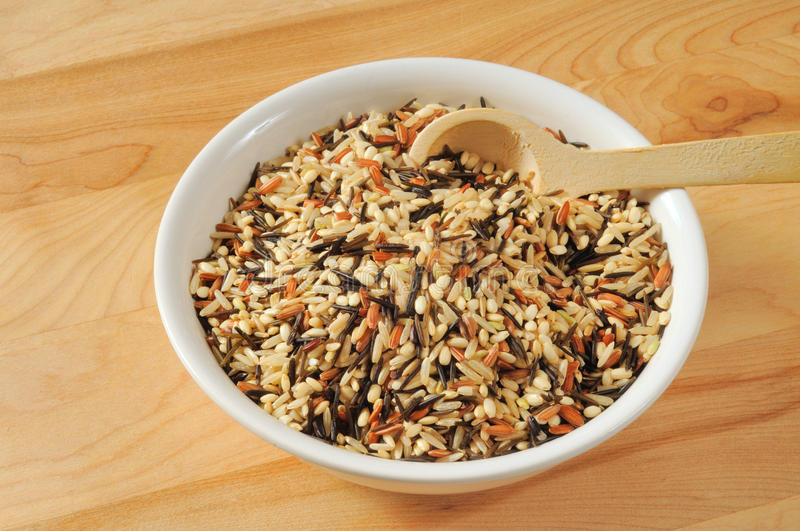 Download Wild rice stock image. Image of natural, rice, cutting - 18388569
