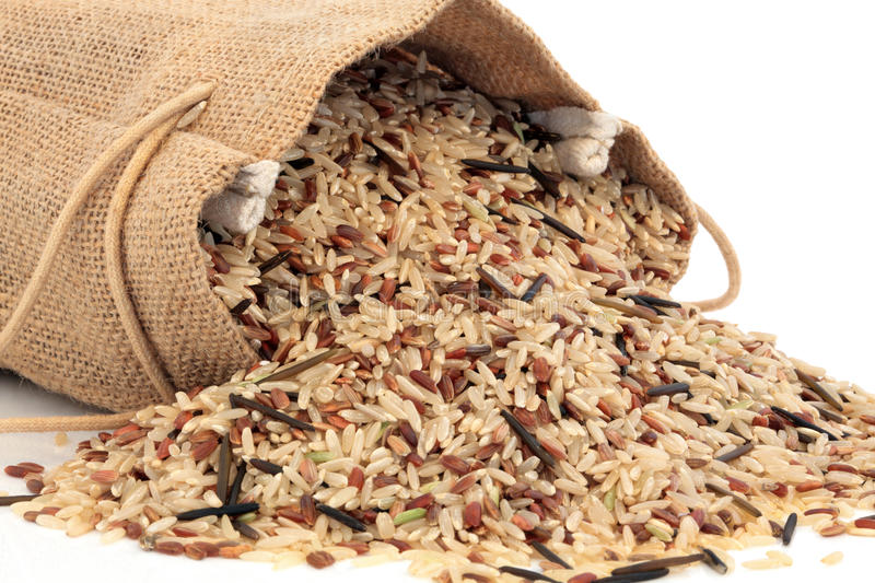 Download Wild Rice stock image. Image of diet, background, whole - 22720135