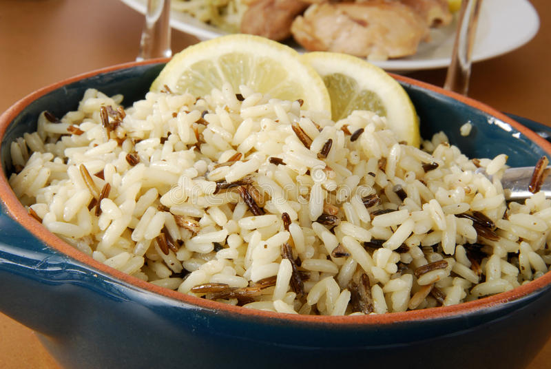 Download Wild rice stock image. Image of supper, delicious, spoon - 22901925