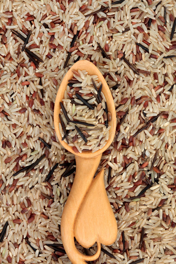 Download Wild Rice stock photo. Image of health, shaped, nutrition - 25619718