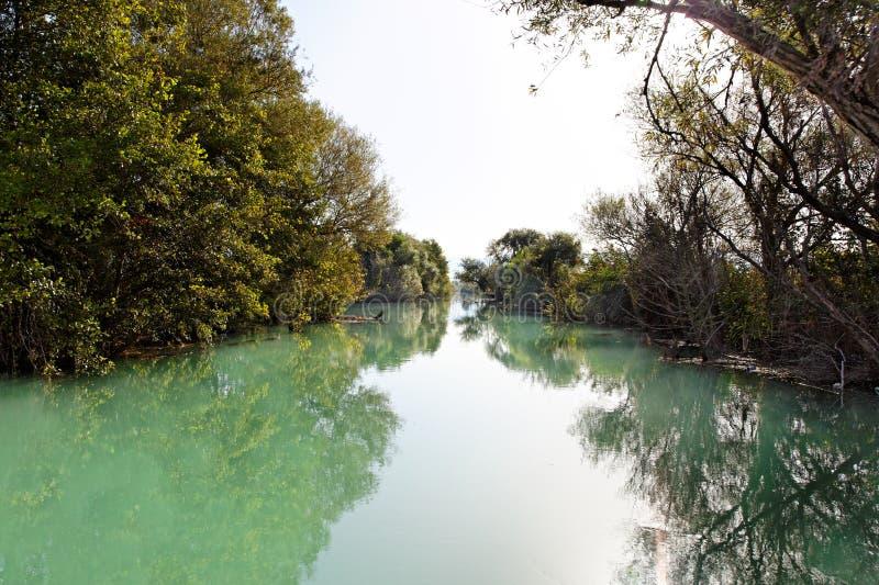 Wild River Near Parga, Greece, Europe Royalty Free Stock Images