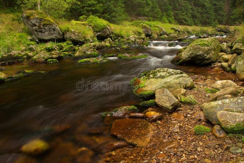 Download Wild stream stock image. Image of rocks, sumava, republic - 7611491
