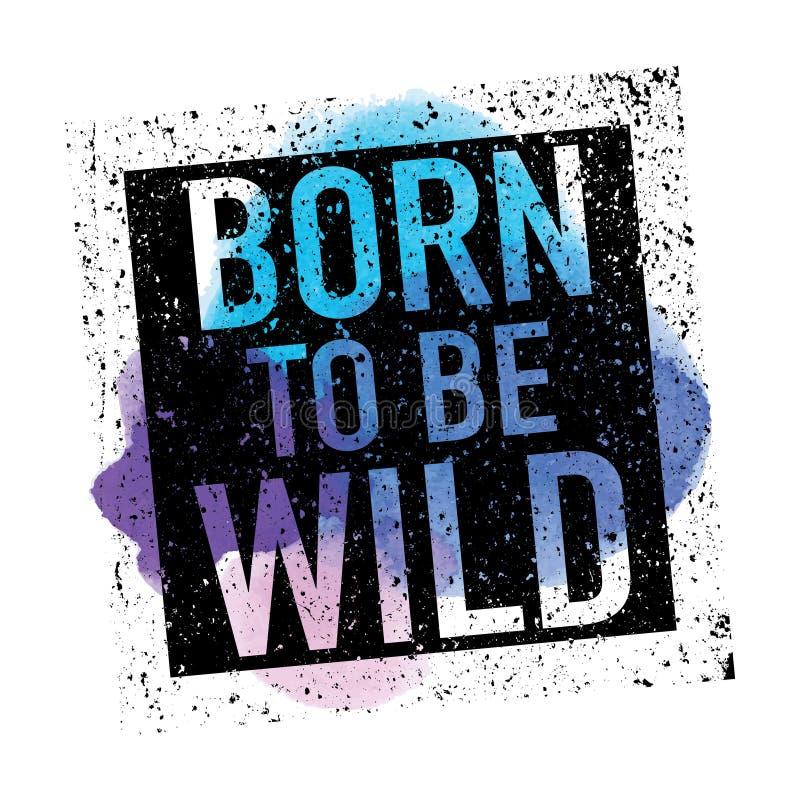 Wild T-shirt Graphics royalty free illustration