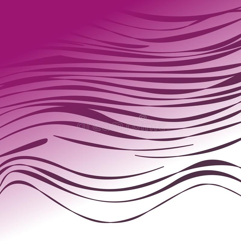 WILD TIG. LINES ETHNIC PINK DELUXE JPG royalty free illustration