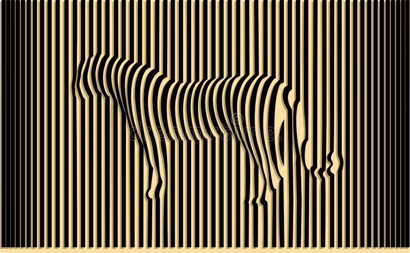 wild tiger vektor illustrationer