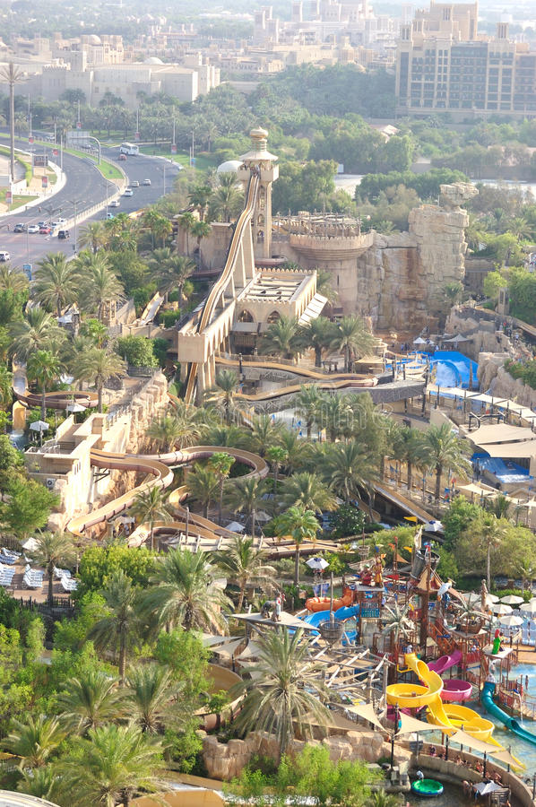 Wild Wadi Aquapark Royalty Free Stock Photos