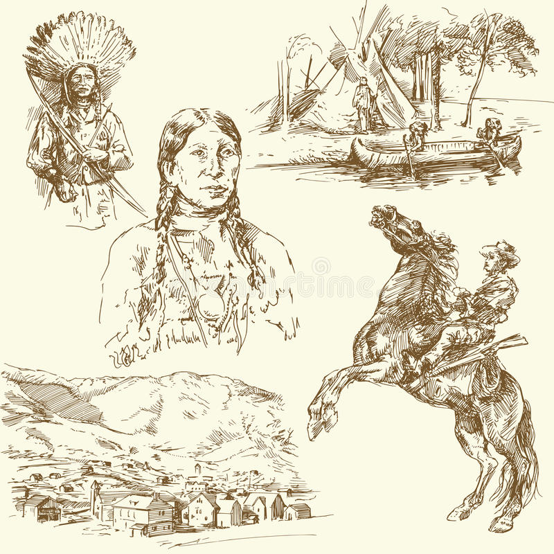 Wild West Royalty Free Stock Image