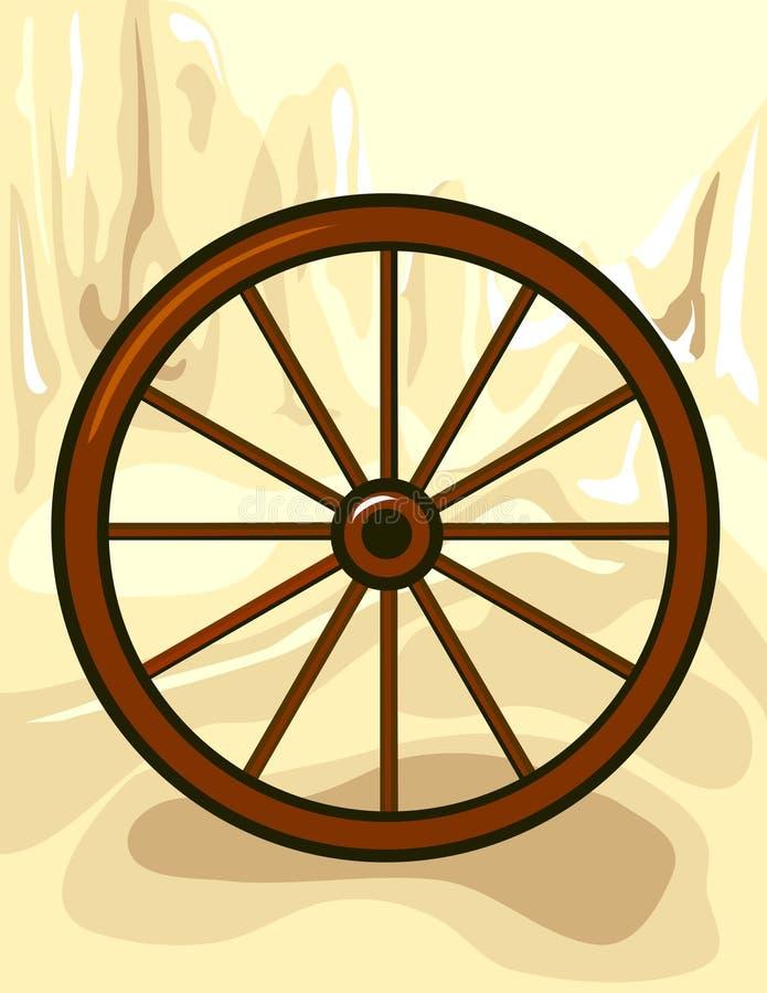 Download Wild West stock vector. Image of wheel, desert, artistic - 4931079