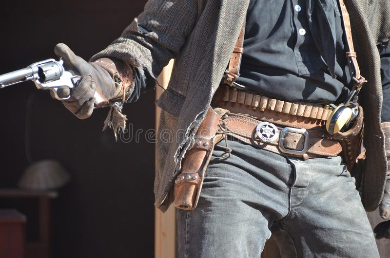 Wild west cowboy royalty free stock photo