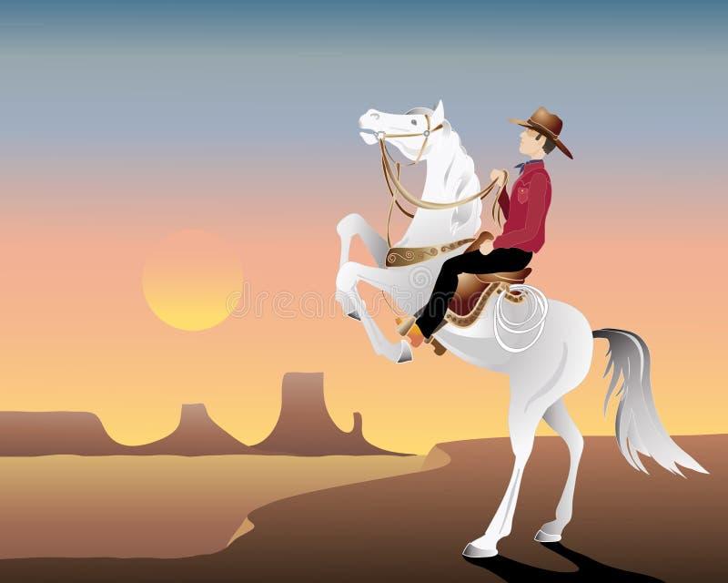 Download Wild west hero stock vector. Image of saddle, western - 19554687