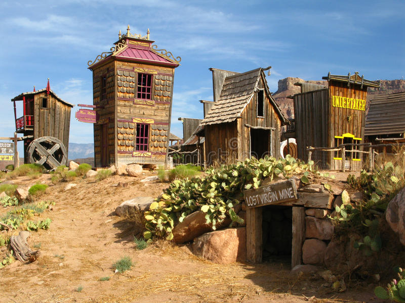 Wild West - Open Air Museum Stock Photography