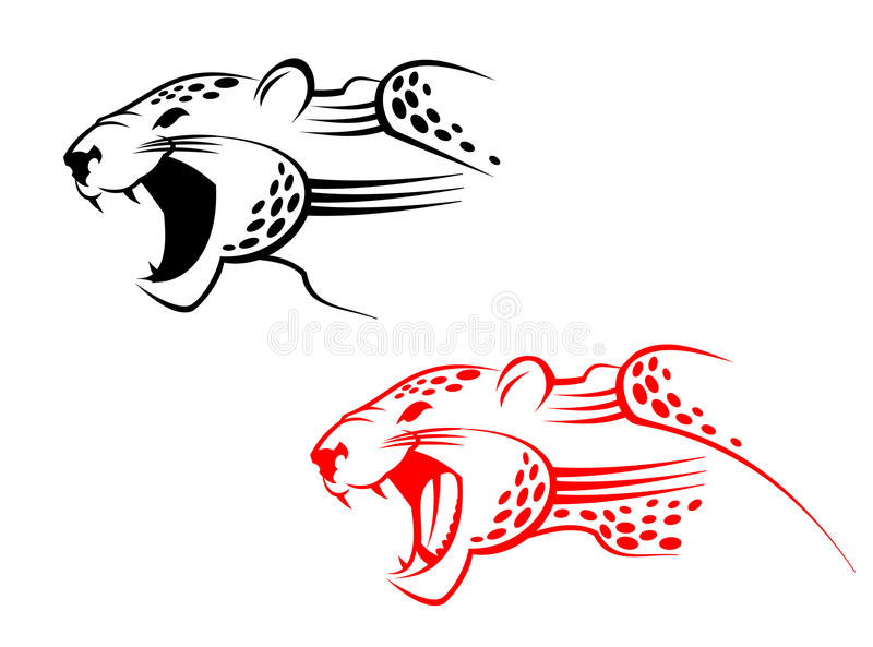 Wildcat sign royalty free stock images