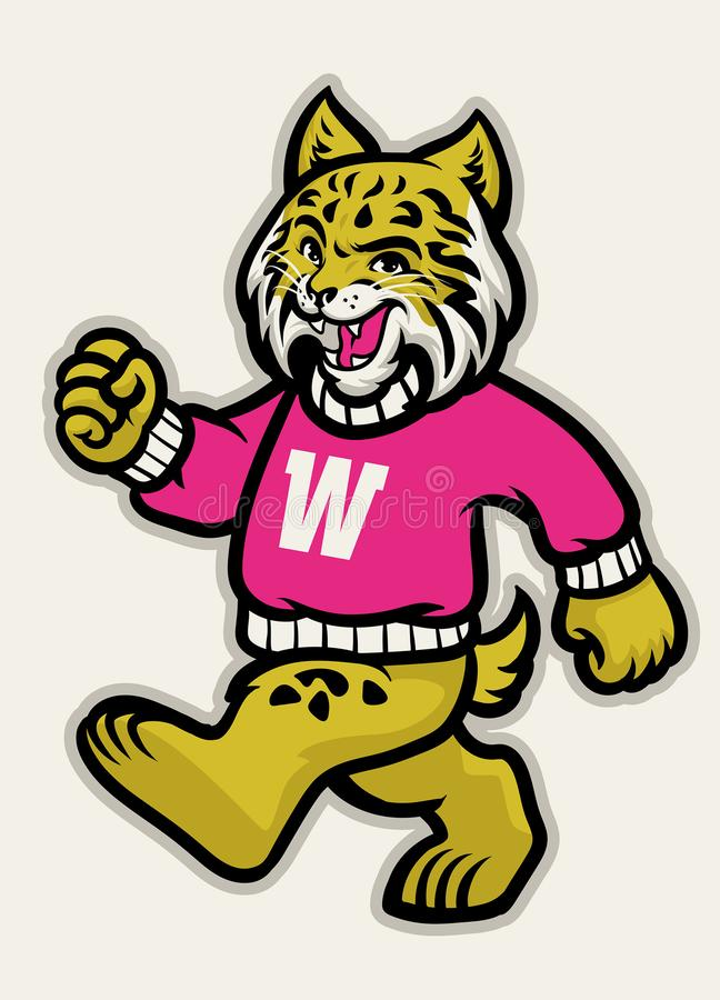 Free Wildcats School Athletic Mascot Stock Images - 149504584