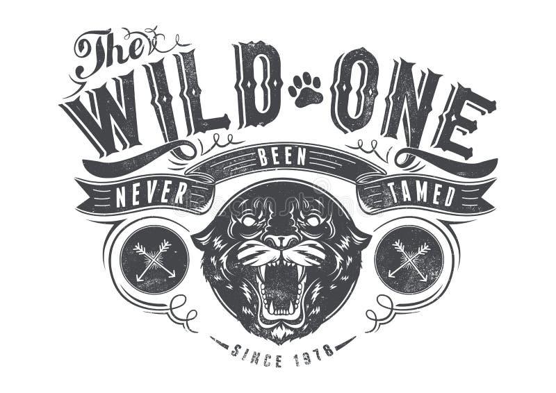 Wilde  stock illustratie
