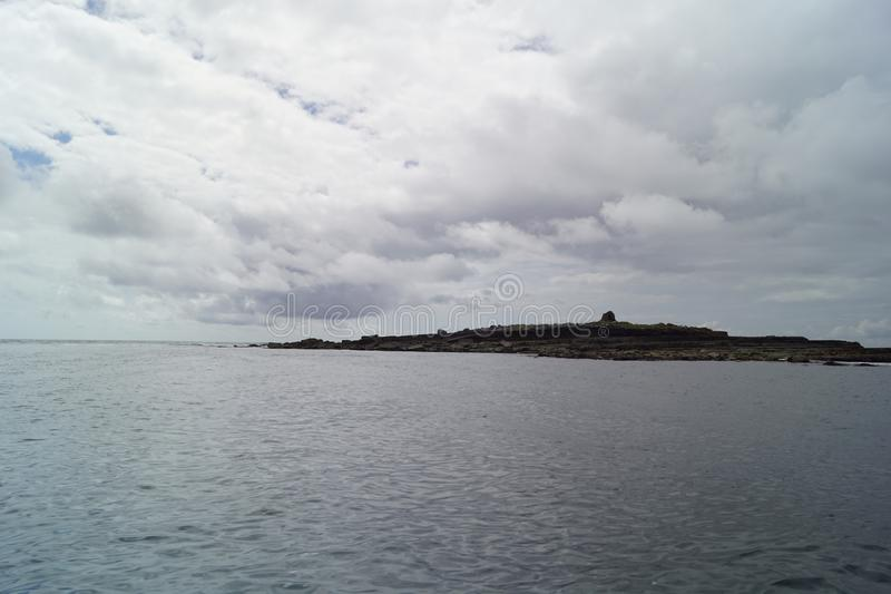 Wilde Atlantische Manierrondvaart op de Klippen van Moher stock foto's