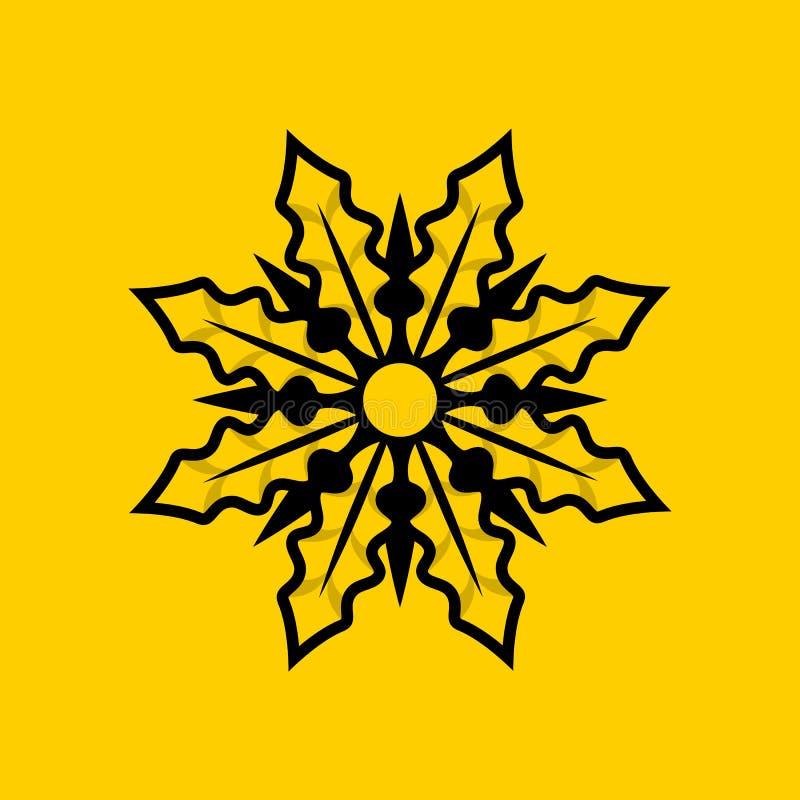 Download Wilde Bloem Stevig Logo Design Vector Illustratie - Illustratie bestaande uit blad, grens: 114227470