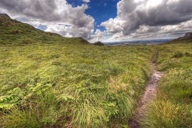 Wilde hdr Landschaft stockfoto
