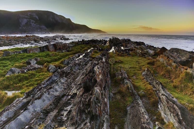 Wilde Küste (Südafrika) stockfotos