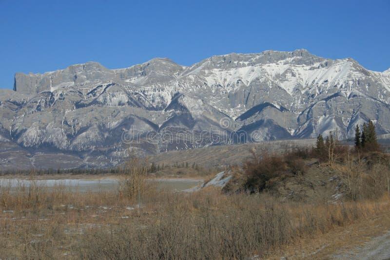 Wilde Natur im Nationalpark des Jaspisses, Kanada lizenzfreie stockfotos