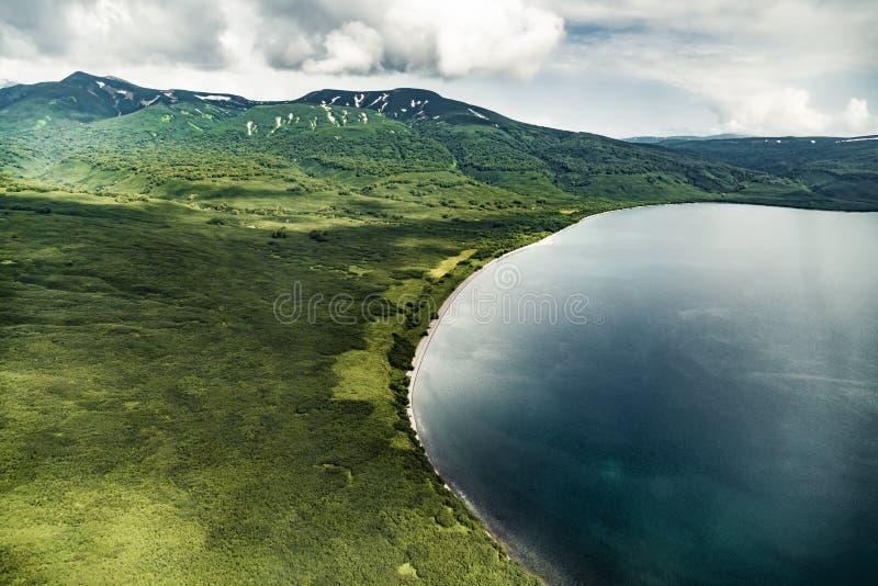 Wilde Natur Kamchatka Kamchatka-Berge Beschaffenheit von Kamchatka, Russland lizenzfreie stockfotos