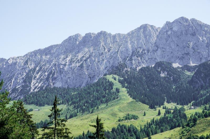 The Wilder Kaiser alps. Near Kufstein in Tyrol, Austria stock images
