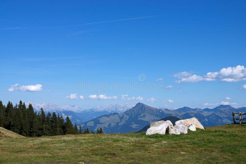 Wilder Kaiser, Tyrol, Autriche images stock