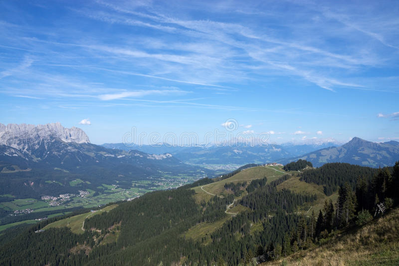 Wilder Kaiser, Tyrol, Autriche image stock