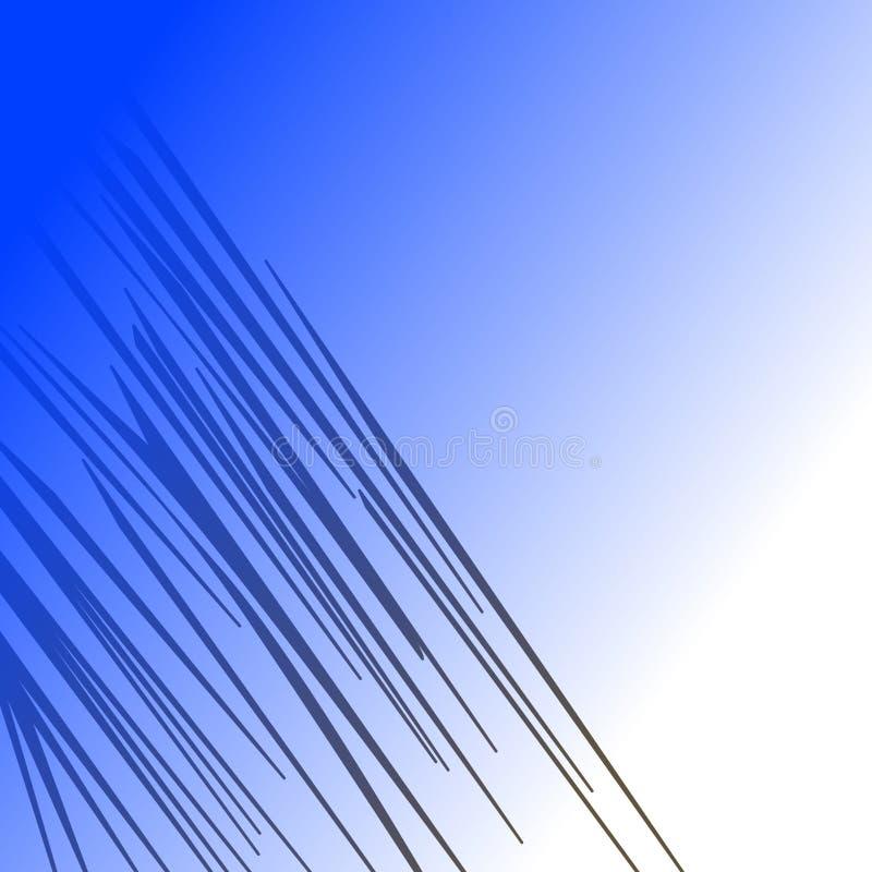 WILDER TIG LINES ETHNISCHE Linien blaues Zebra wild stockfoto
